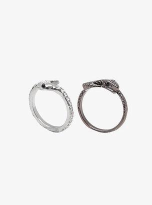 Torrid Snake Stacked Ring Set