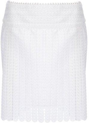 Paco Rabanne crochet skirt