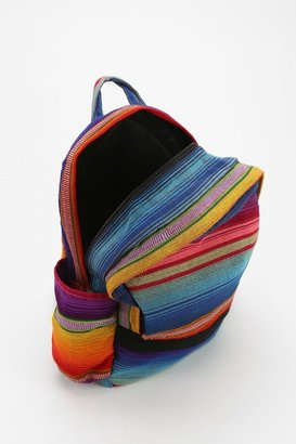 Urban Outfitters Hiptipico Remolacha Stripe Backpack