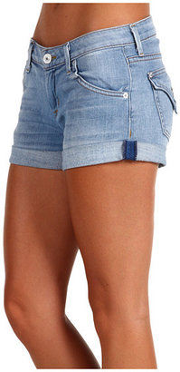 Hudson Hampton Cuffed Short Short in Flora