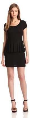 Kensie Women's Peplum Jersey Dress