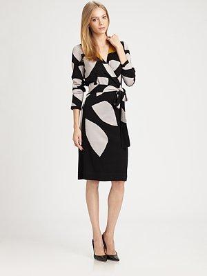 Diane von Furstenberg Richley Wrap Sweaterdress