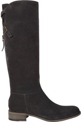 Sartore Crisscross-Strap Riding Boots