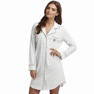 Chaps notch collar sleep shirt