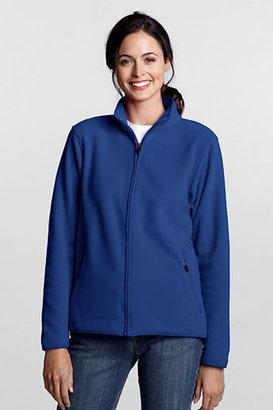 Lands' End Women's Tall Fleece Jacket