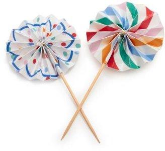 Sur La Table Meri Meri Toot Sweet Pinwheel Cupcake Picks, Set of 8