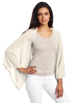 Minnie Rose Women's 100% Cashmere Kimono Cardigan Sweater