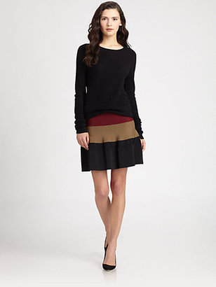 A.L.C. Davison Open-Back Sweater