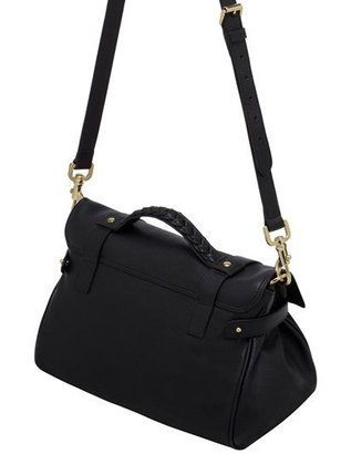 Mulberry Alexa Polished Buffalo Satchel