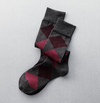 LOFT Argyle Boot Socks