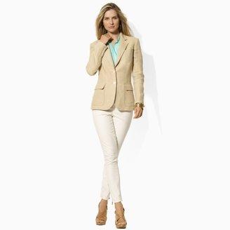 Ralph Lauren Herringbone Linen Jacket