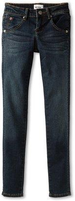 Hudson Kids - Girls' Collin Skinny w/ Flap Back Pocket (Big Kids) (Hunter Green) - Apparel