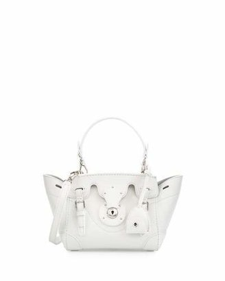 Ralph Lauren Soft Ricky 18 Crossbody Bag, White $1,750 thestylecure.com