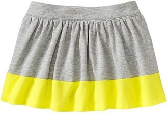 Old Navy Color-Block Jersey Skorts for Baby
