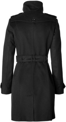 Burberry Wool-Cashmere Fitted Basingstoke Coat