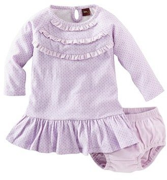 Tea Collection 'Diamond' Dress & Bloomers (Baby Girls)