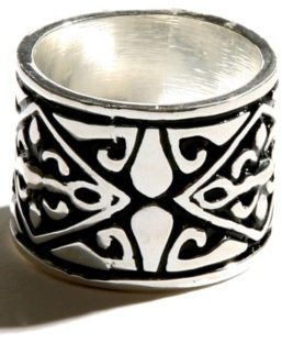 Silver Art Deco Ring