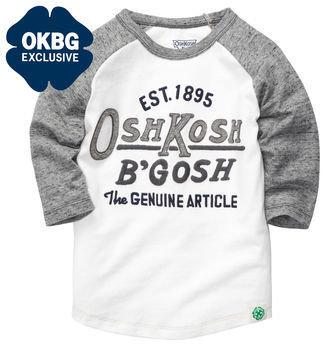 Osh Kosh Long-Sleeve Embellished Tee