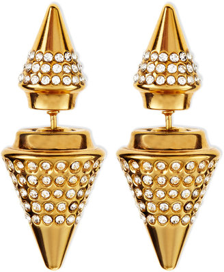Vita Fede Double-Sided Crystal Titan Earrings