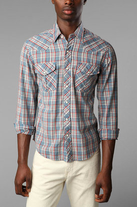 Urban Outfitters Salt Valley Long-Sleeved Temson Western Shirt