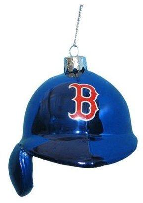 "Kurt Adler [h1 Glass Red Sox Batting Helmet Ornament 5""[/h1]"