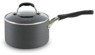 Calphalon Cooking with 2-qt. nonstick hard-anodized covered saucepan