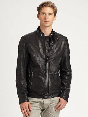 Diesel Lophophora Leather Jacket
