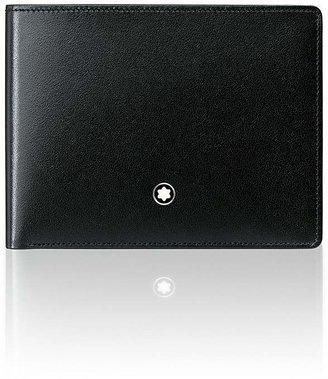 Montblanc Meisterstuck 6 Card Wallet $300 thestylecure.com