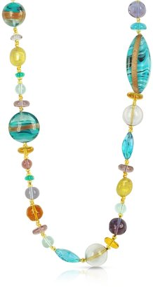 Antica Murrina Niagara - Long Murano Glass Necklace $198 thestylecure.com