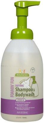 BabyGanics Shampoo & Bodywash- Lavander 18.6oz