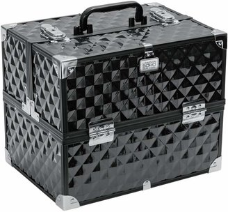 S.O.H.O New York Digital Diamond Large Black Vanity Case