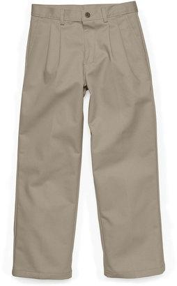 Izod Boys' Husky Pleated Pants