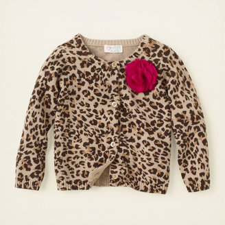 Children's Place Leopard cardigan