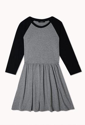 Forever 21 Sporty Raglan Dress
