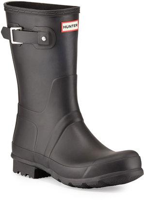 Hunter Original Short Boots, Black