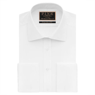Thomas Pink Edric Plain Classic Fit Double Cuff Shirt