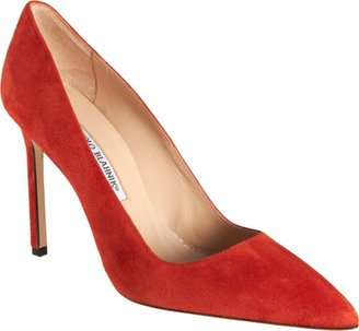 Manolo Blahnik Suede BB Sale up to 60% off at Barneyswarehouse.com