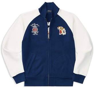 Ralph Lauren Childrenswear Boys' Atlantic Terry Jacket - Big Kid