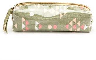 Charlotte Russe Small Geometric Cosmetics Bag