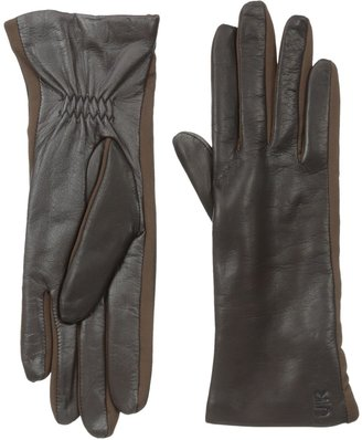 URBAN RESEARCH U|R Women's Leather Glove with Stretch