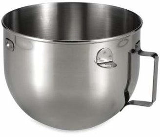 KitchenAid 5-Quart Polished Stainless Steel Narrow Bowl with Handle