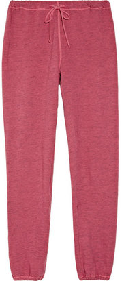 Clu Drawstring cotton-terry track pants