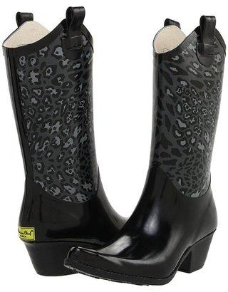 Western Chief Cheetah Hybrid Western Boot (Charcoal) - Footwear