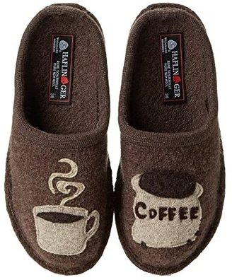 Haflinger Coffee (Brown) Women's Slippers