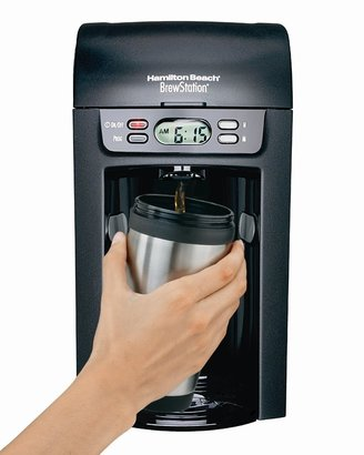 Hamilton Beach 48274 Brew Station 6 Cup Coffeemaker, Black