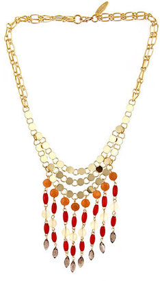 Wendy Mink Disc and Oval Necklace