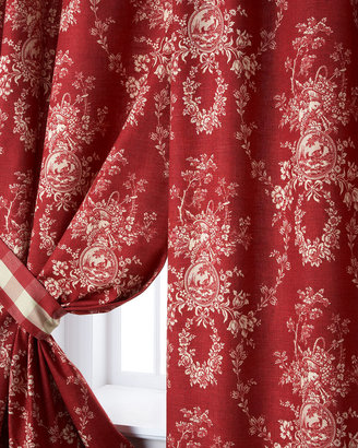 "Sherry Kline Home Two French Country Curtains, 52""W x 96""L"