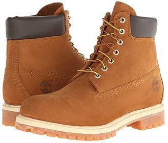 Timberland 6 Premium Waterproof Boot (Rust Nubuck) Men's Lace-up Boots