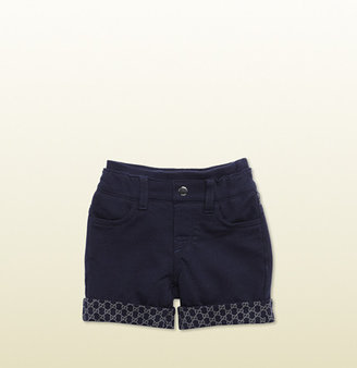 Gucci oltemare short jogging pant with GG print detail