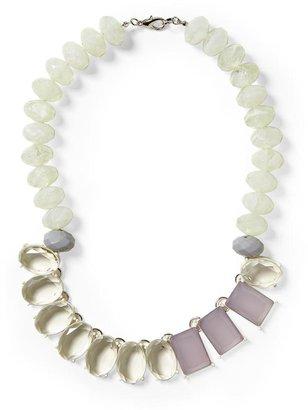 Pim + Larkin Lavender Beaded Gems Necklace